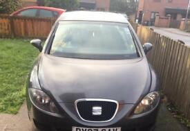 MK2 SEAT LEON BREAKING SPARES OR REPAIR SALVAGE 1.6 BSE LS7Z GREY