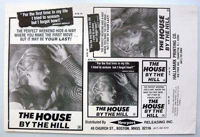 The House By The Hill original press sheet 9x14