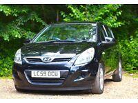 Hyundai i20 1.2 Comfort 5dr FULL SERVICE HISTORY 2009 (59 reg), 88,250 miles Manual Petrol