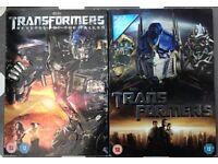 2 Transformers DVDs