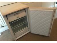 Under Worktop Freezer, Hotpoint Iced Diamond