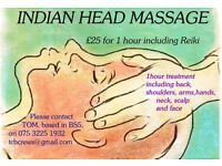 AMAZING Indian Head Massage only £25!!