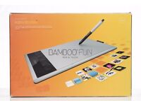 Wacom Bamboo Pen and Touch Graphics Tablet + Wireless Pack & Case