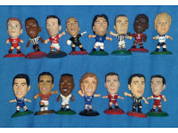 35 Corinthian Microstars mini football figures and stadium open to offers