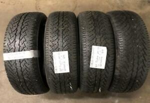265/65R17 BRIDGESTONE All Season Tires ($300 for all four) Calgary Alberta Preview