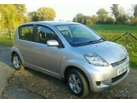 DAIHATSU SIRION 1.3 SE 2008 5535 MILES 1 OWNER FULL SERVICE HISTORY AS NEW CONDITION THROUGHOUT