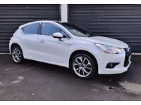 2011 CITROEN DS4 DSTYLE 1.6 HDI 110 *METALLIC PEARL WHITE* FINANCE AVAILABLE