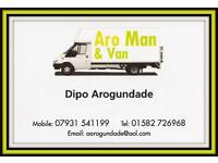 MAN & VAN by ARO ** Lowest insured rates around from £15ph ** Best value in Beds, Herts, Bucks, M25