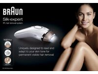 Braun Silk Expert IPL Luxury at-home Laser hair removal device - Salon & Spa quality results