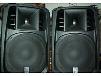 Selling AMC Power Box Speakers with tripods, and cables