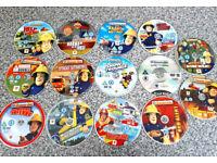 14 Original Fireman Sam DVDs