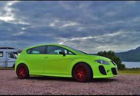 2009 Seat Leon k1 limited edition, not golf audi subaru corsa ford