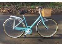 GORGEOUS RALEIGH CAPRICE LADIES BICYCLE BIKE WICKER BASKET 3 SPEED