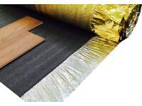Acoustic Gold 3mm Laminate Flooring Underlay