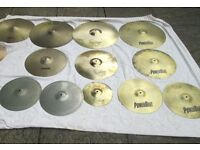 Cymbals - Various Brands and Sizes; £10 - £25 - See Detail