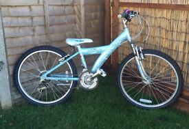 Girls Raleigh Mountain Bike like New