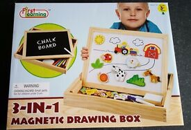 3 n 1 drawing box, brand new