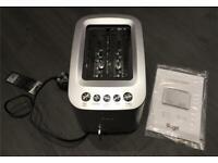 Brand New Sage 2 Slice Motorised Smart Toaster - Retail £129!