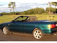 Audi Cabriolet Convertible with additional Hard Top