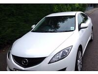 2008 Mazda 6 TS2 / 68500 mls / 2.0 / MOT to July 2017 / Pearlised White