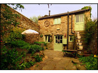'The Little Barn, Reeth, North Yorkshire. Beautiful and secluded cottage for 2. Private garden.