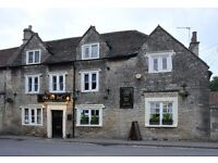 Assistant Pub manager Colerne - Village pub for an young, lively, manager to run front of house .