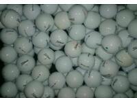 A grade golf balls. Most brands