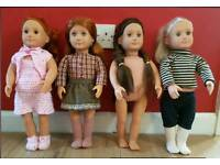 Our Generation Dolls.