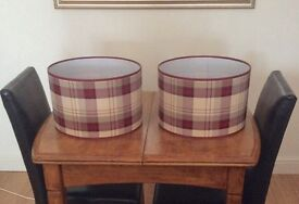 Two large lamp shades (New)
