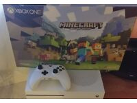 Xbox One S 500gb Console - Boxed - With Controller and cables