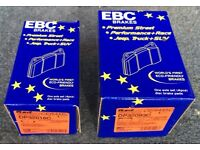 RED STUFF CERAMIC BRAKE PADS....FRONT AND REAR.....(BRAND NEW / BOXED)