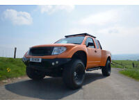 2005 NISSAN NAVARA 2.5 DCI ORANGE MANUAL 100K MILES