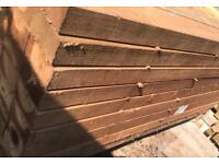 Hardwood Sleepers £18.50