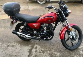 HONLEY 125CC HD3 MOTORBIKE