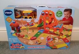 Vtech Toot Toot Gold Mine Train Toy - Brand New