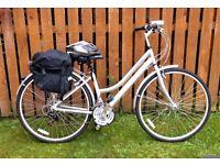 Falcon Adventurer Women's Hybrid Bike with Extras