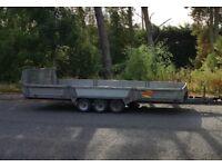 16ft Bateson 3500kg PT56 Tri Axle Hydraulic Tilt Trailer (7ft Wide) - NO VAT
