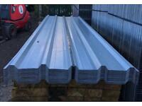 🔩 Various Sizes Of New Galvanised Box Profile Roof Sheets