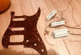 Fender powerhouse strat loaded scratch plate