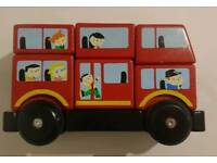 M&S Wooden stacking bus