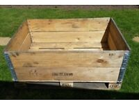 Pallets & 2 Pallet Collars - suitable for raised beds