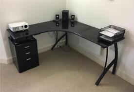 Burberry Corner Computer Desk