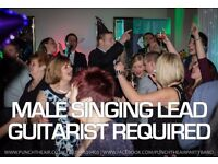 Male singer lead guitarist required by busy professional wedding/corporate/party band