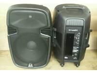 Ekho rs15a PA speakers. 400w RMS per speaker.