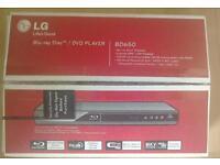 LG BD650 Blu-Ray Player