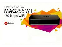 MAG 256 W1 * IPTV * 100% Genuine + *12 Months Gift * FULL WORLD HD PACKAGE * Won't Find Better*