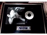 John Lennon & yoko Ono signed record