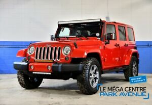 2016 Jeep Wrangler Unlimited SAHARA 4WD *9000$ D'ACCESSOIRES*