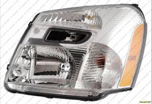 Head Lamp Driver Side Chevrolet Equinox 2005-2009