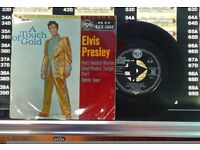 Elvis Presley – A Touch Of Gold Volume 1, VG, part of the Gold Standard Series, released on RCA.